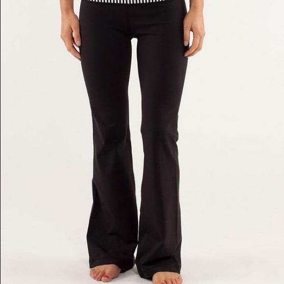 8a03e69da813ae lululemon athletica Pants | Lululemon Wide Leg Yoga Size 4 | Poshmark